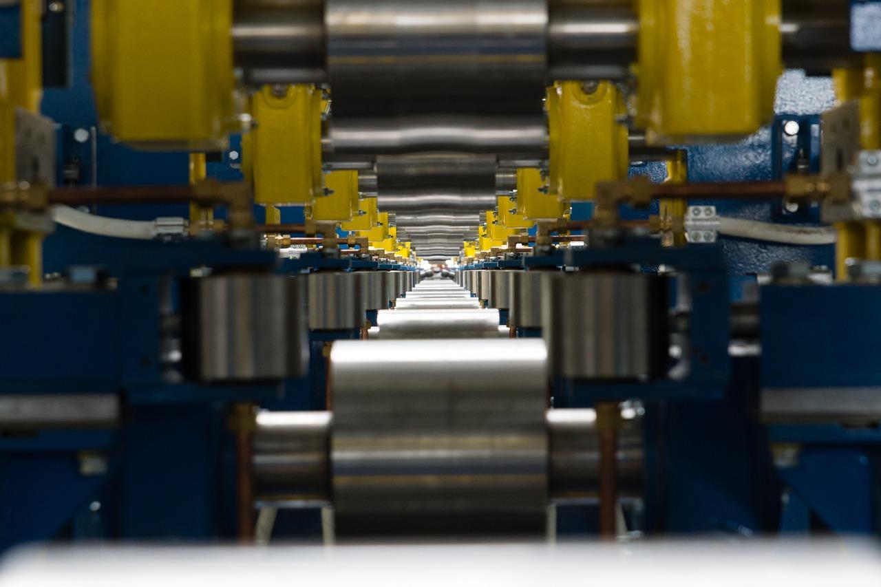 factory, line roller, rail